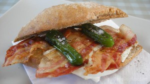Bocata de bacon